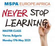 MSPA Master Class Monday - 18th May 2020