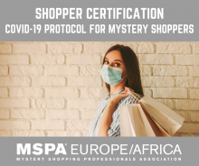 Mystery Shopper Covid-19 certification - NEW e-learning course
